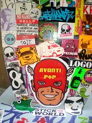 BOMB THE SHOP (bombtheshop(b)) Tags: stickers pegatinas loadcorp pigsskateshop bombtheshop