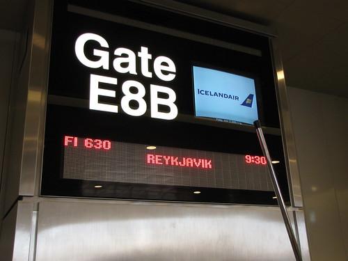Logan gate to Iceland