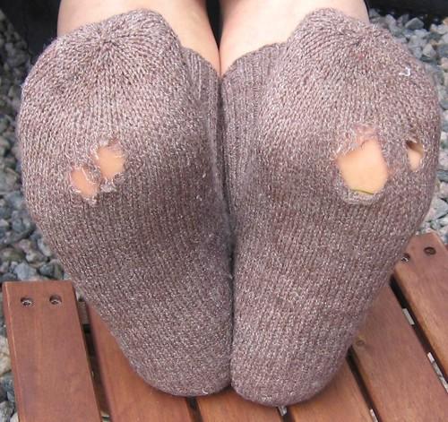Hullete sokker