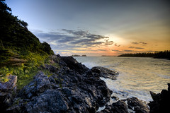 Tofino sunset HDR (chrismphillips) Tags: sunset britishcolumbia tofino daarklands