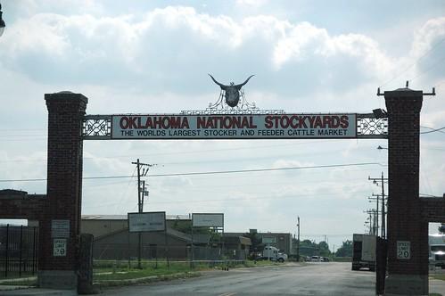 Stockyards gate