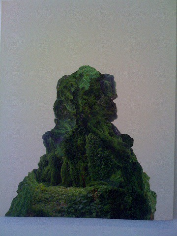 Harrison Haynes Kudzu Collage at Saltworks Gallery