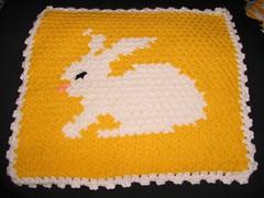 tavşanlı tığ örgüsü banyo lifi
