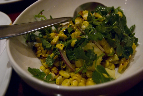 bar lourinha smoked corn salad
