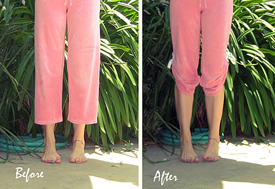Refashion Sweat Pants DIY