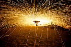 The Wanda Wonder (alexkess) Tags: lightpainting fire sand nikon sydney australia nsw sparks orbs sandhills cronulla kurnell sifa wirewool wandabeach flickrexportdemo d700 alexkess michaelsutton afsnikkor1735mmf28difed thesutherlandshire lightjunkie lightpainters dangerousdads alexanderkesselaar