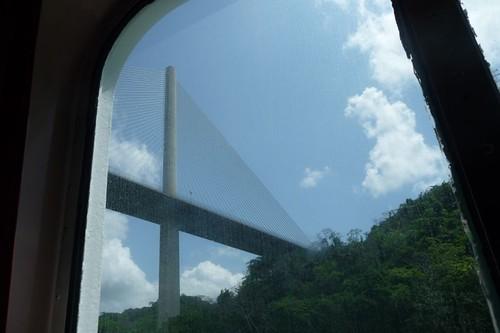 Centennial Bridge, from my cabin window