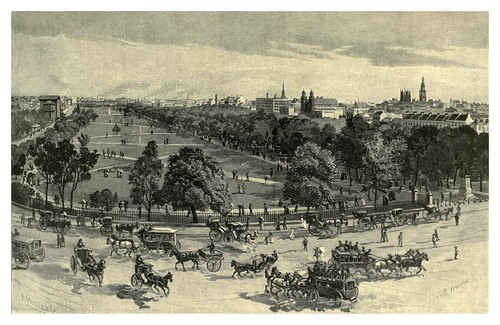 008-Hyde Park en Sydney-Australasia illustrated (1892)- Andrew Garran