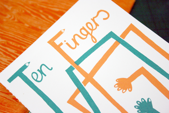 ten fingers zine