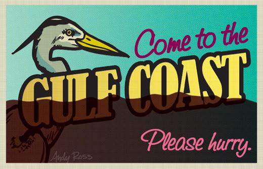 Gulf Postcard