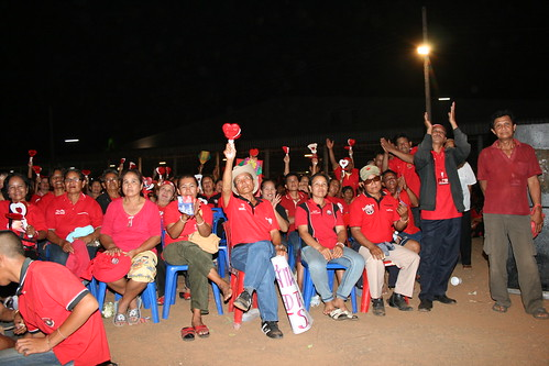 Red Shirts Ubon Ratchathani Thailand