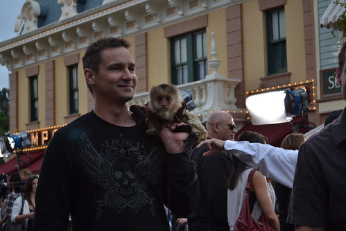 Jack the Monkey on the Pirates of the Caribbean: On Stranger Tides Black Carpet