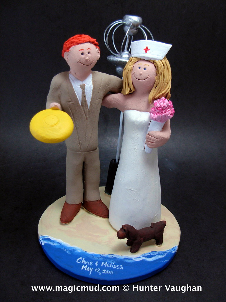 nurse wedding cake topper the world s best photos by customweddingcaketoppers 17950
