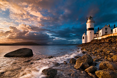 Cloch Lighthouse 8-5-11 II (Peter Ribbeck) Tags: clyde bravo gourock dunoon kilcreggan clydecoast inverclyde cloch firthofclyde stronepoint clochlighthouse clochpoint peterribbeck