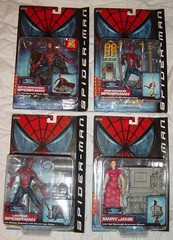 spidermanmovie (nightcraw) Tags: actionfigure spiderman maryjane toybiz spidermanmovie