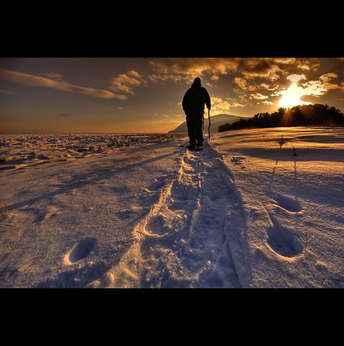 Walk and sun...