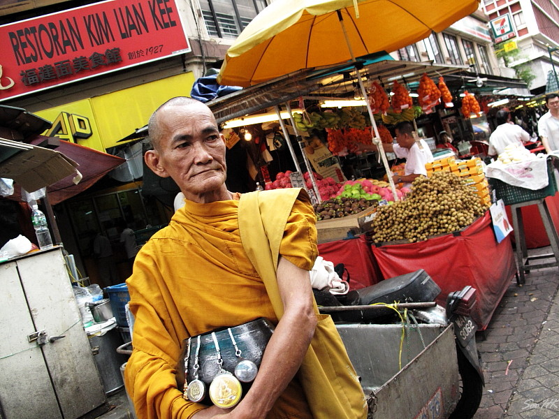 Monk @ KL, Malaysia