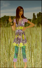 Round 2 / Miss Cool Sims 2009 by .Pinkie