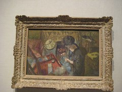 The Small Drawing-Room, Mme Hessel at her Sewing Table (unforth) Tags: newyorkcity newyork art museum painting french european manhattan oil artmuseum 20thcentury uppereastside metropolitanmuseumofart edouardvuillard