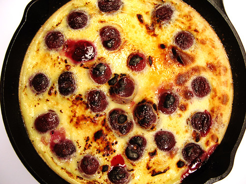 Cherry Clafoutis (close)