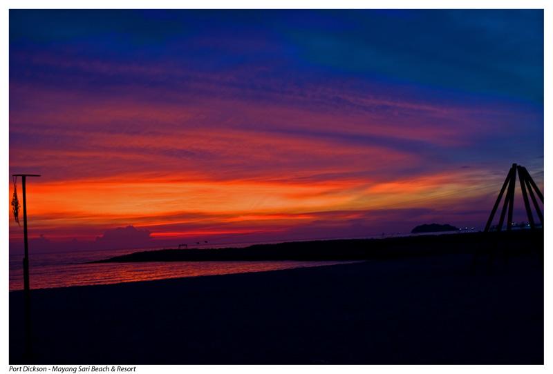 Port Dickson at dawn #1