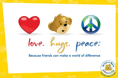 We've kicked off our Love. Hugs. Peace.™ movement because we are one global