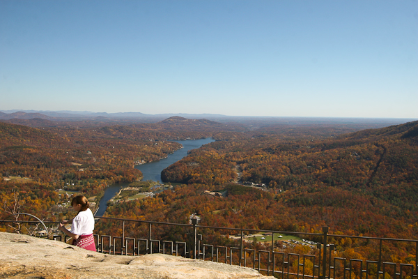 Lake Lure from Chimney Rock
