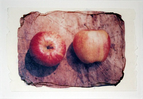 Two Apples (Overhead)
