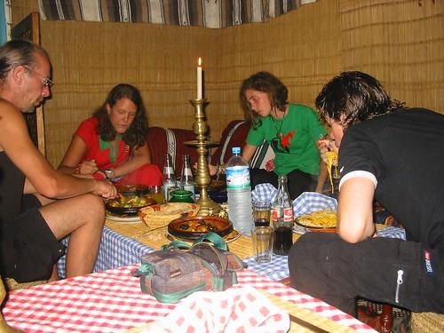 Heerlijk eten in Le Dauphin