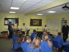 Creative Parnerships with Bridgemary Community Sports College.