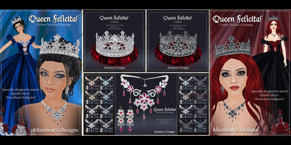 Queen Felicitas poster all