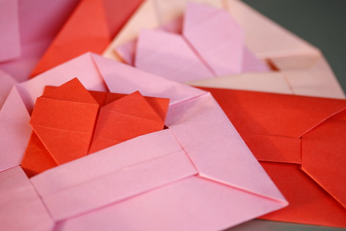 party invitation and envelopes