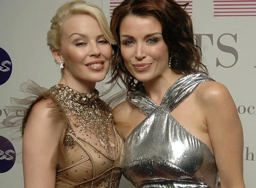 Kylie Minogue and Danni Minogue