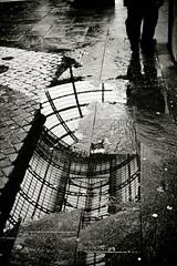 walking in Milan (Fotis ...) Tags: street wet rainy waterreflection