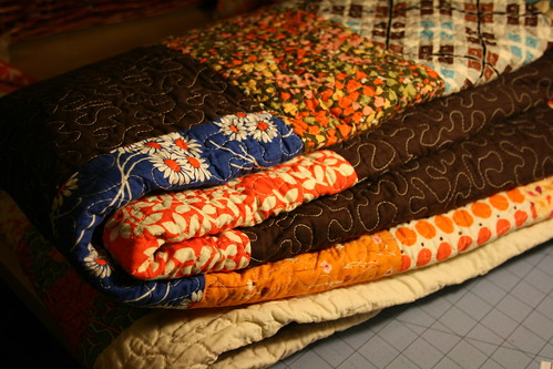 Lots of cuddly quilt