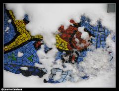 Mozak (lisannekerstens) Tags: snow fountain russia moscow sneeuw moskou rusland fontein  mozak alexandrovskygarden