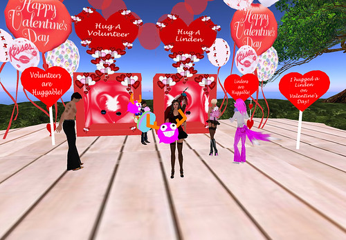 Garry Linden's kissing booth