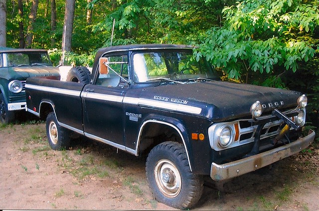 4x4 pickup dodge powerwagon w150