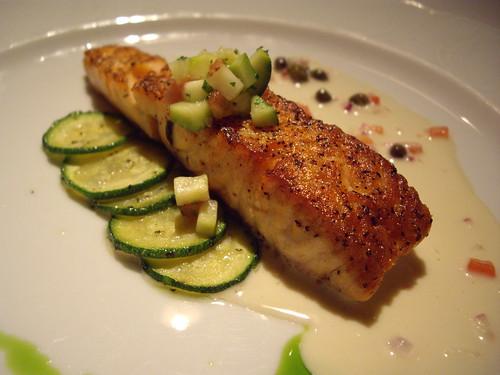 Sauteed Salmon Chop