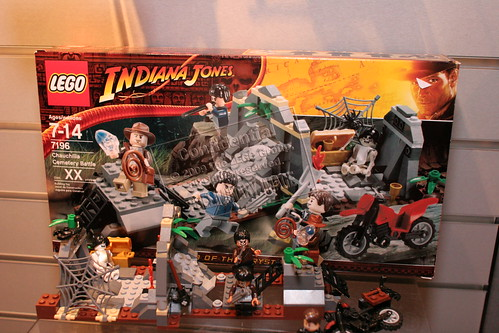 LEGO Indiana Jones 7196 - Chauchilla Cemetery Battle