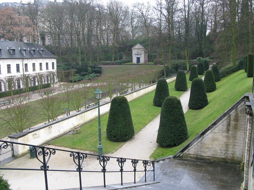 A park in Brussels near to the ULB
