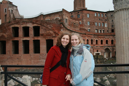 Sisters in the Colosseum