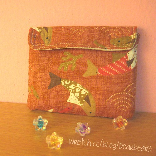 handmade pouch by you.