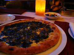 Spinach-Gorgonzola Pizza
