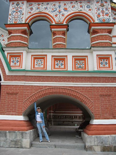 Москва, лето 2008