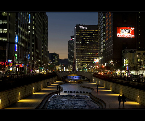 Cheonggyecheon 청계천
