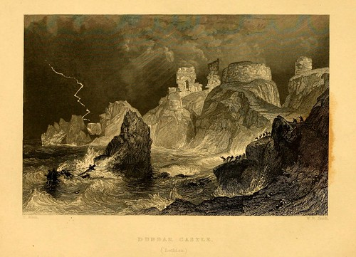 021- Castillo de Dumbar en el distrito de Lothian