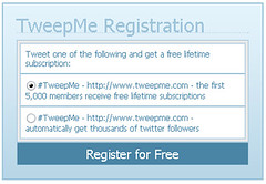 TweepMe: No. 1 Twitter Spam Generator