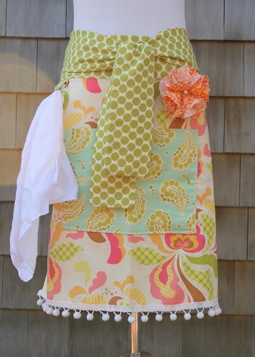 sweet basil hostess apron
