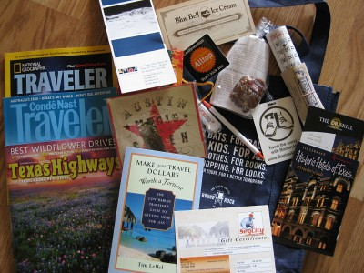 Travel Swag Bag Contents SXSWi